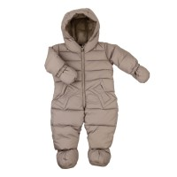 Down jumpsuit without fur ADD gray 62 cm.