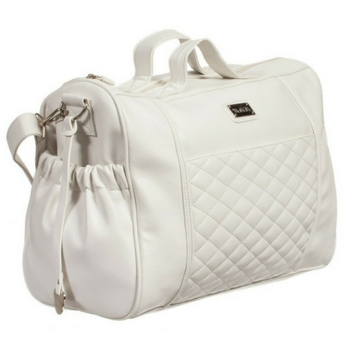 White Quilted Walking Bag Nanan