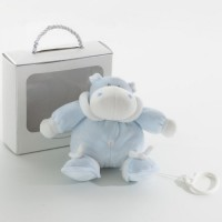Light blue Bombo stroller music box