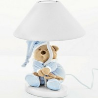 Lampshade Puccio light blue