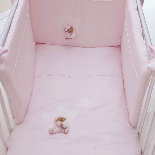 Puccio Star Bed Duvet Set pink