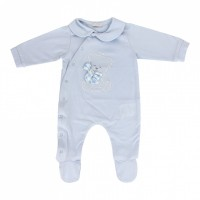Romper Nanan Orsetto blue 1 month