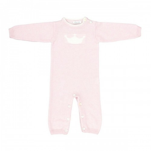 Cashmere romper Love In Kyo Crown pink 3 months
