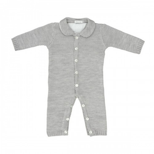 Merino romper Love In Kyo grey 12 months