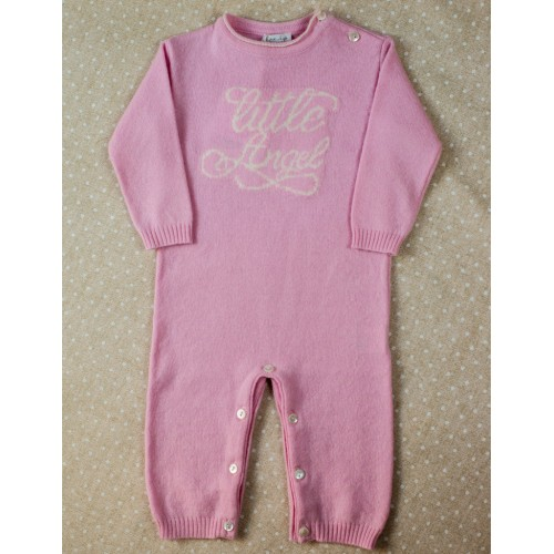 Cashmere romper Love In Kyo Little Angel pink 3 months
