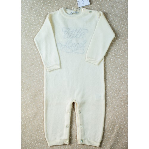 Cashmere romper Love In Kyo Little Angel ivory 6 months