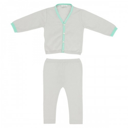 Suit (jacket + pants) Love In Kyo gray with mint piping 24 months