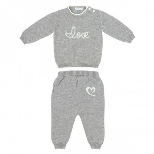 Cashmere suit Love In Kyo Love gray 3 months.
