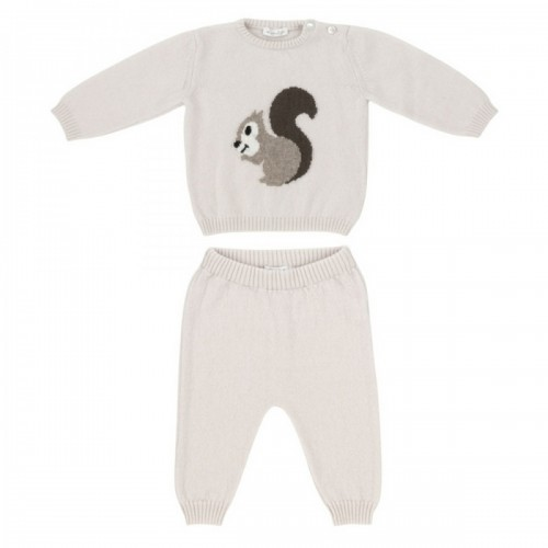 Cashmere suit Love In Kyo with squirrel beige 9 months
