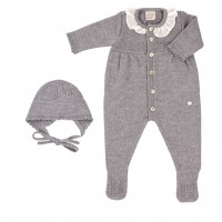 Paz Rodriguez CIMA set, a romper with a hat 1 month