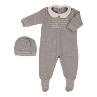 Paz Rodriguez Paz 20-21 set, a romper with a hat 1 month