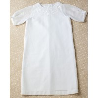 Christening shirt Pusha PSH7 white 0-3 months