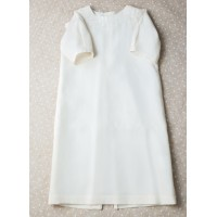 Christening shirt Pusha PSH7 silk ivory 0-3 months