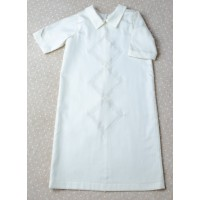Christening shirt Pusha PSH8 silk ivory 0-3 months
