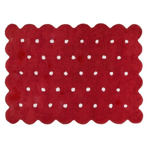 Biscuit Red rug