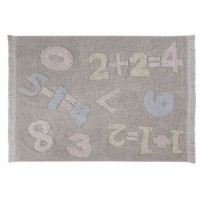 Washable Rug Baby Numbers
