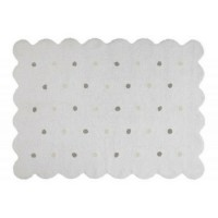 Biscuit White rug
