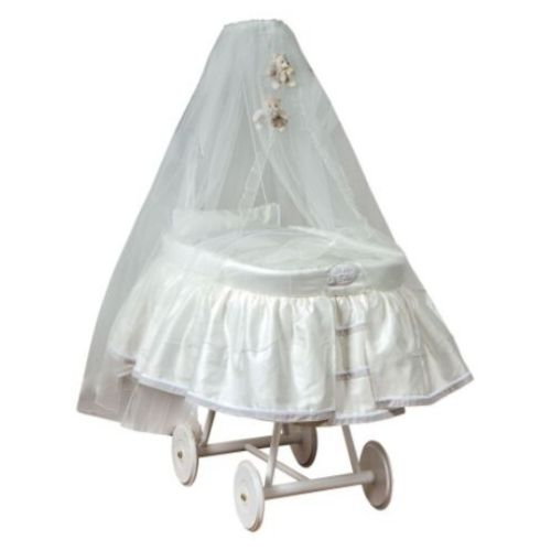 Cradle with Canopy Cream Cheesecake Picci