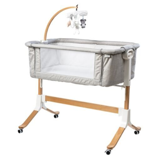 Co-sleeping Crib You&Me Evolution Grey Picci