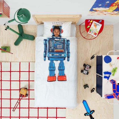 Robot bedding Snurk
