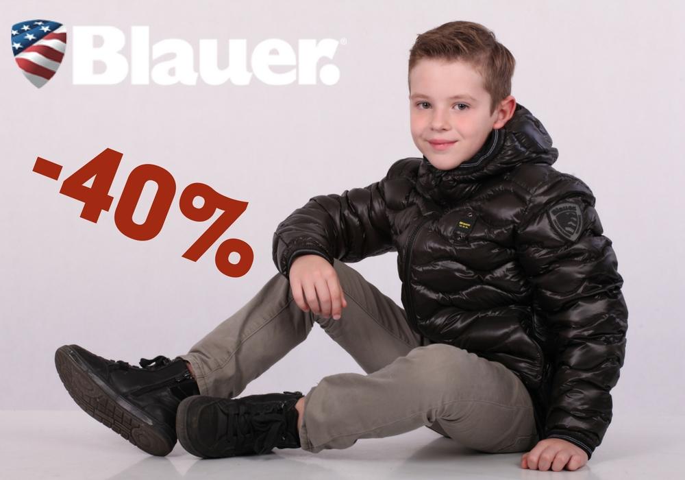 -40% на пуховые куртки Blauer